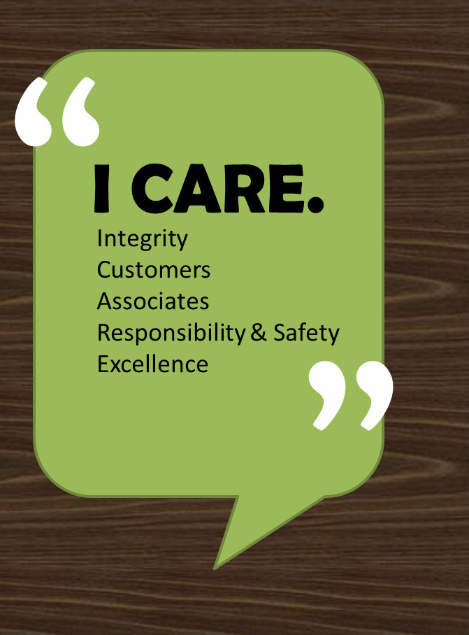 I CARE graphic